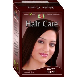 Brown Henna Hair Dye