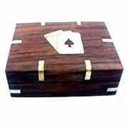 Wood Double Cards Dices