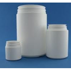 Wide Mouth Round HDPE Jars