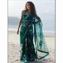 Green Net Sarees