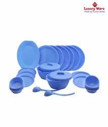 Blue Dinner Set