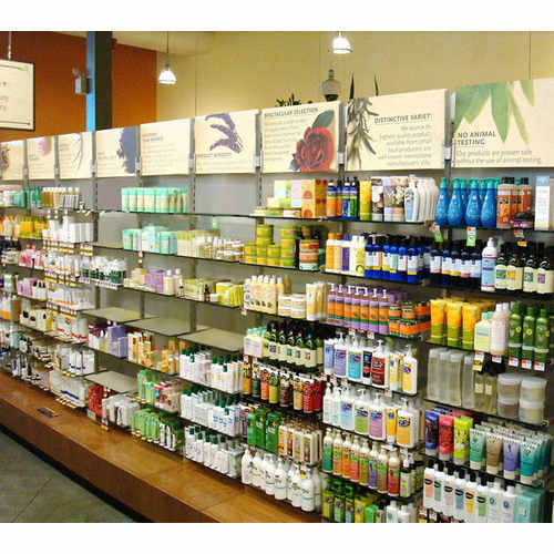 Medical Cosmetics Racks Cosmetic Products Display Racks