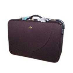 Purple Polyester Waterproof Deluxe Suitcases
