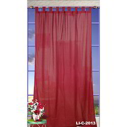 Cotton Eyelet Organdy Curtain, For Window