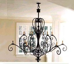 Wrought iron chandelier manufacturers suppliers traders of wrought iron chandelier lamp aloadofball Gallery
