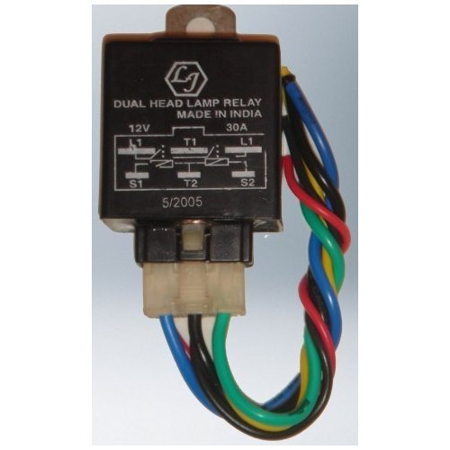 Car horn wiring diagram button