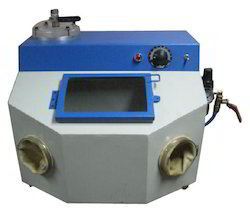 Manual Air Clean Jewellery Sand Blasting Machine