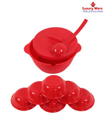 Red Pudding Set