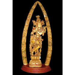 Resin Krishna God Statue