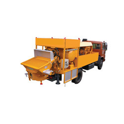 Truck Mounted Concrete Pumps on Rent