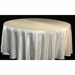 RFI White Round Table Cloth