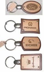 Laser engraved Elegant Keychains