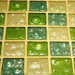 Decorative Glass Wall  Tiles, Thickness: 8 - 10 Mm