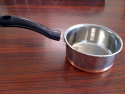 Ss Stainless Steel CB Sauce Pan, For Home, Size: Universal