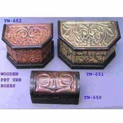 Antique Pet Urn Boxes