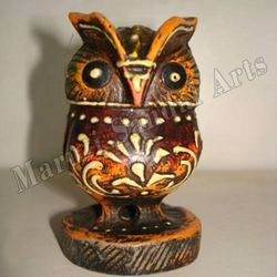 Emboss Painted Owl