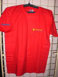 Red Promotional Round Neck T-Shirts