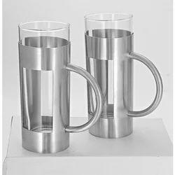 Beverage Mug Rectangle Punch Set Of 2