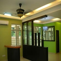 Wooden Partition partition work - office room partition manufacturer from delhi
