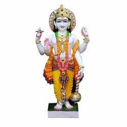 Marble Lord Vishnu Ji Idol