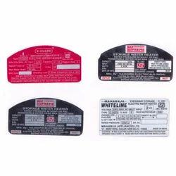 Digital,Screen Printing Stickers for Geyser, Packaging Type: Box,Carton