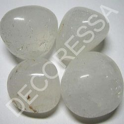 Polished Pebbles - Crystal White