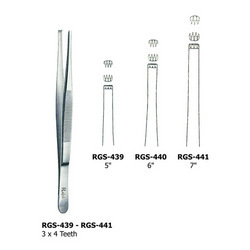 3 Into 4 Teeth RGS Surgery Instruments