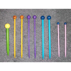 Colored Needles