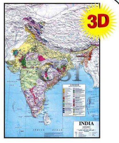 Geological Map Of India Maps By Geological Of India   View Specifications & Details of  Geological Map Of India