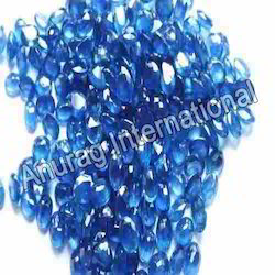 Party Wear Blue Sapphire Stone