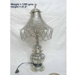 Decorative Silver Plated Table Lamp