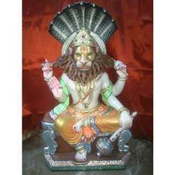 Marble Narshima Statue