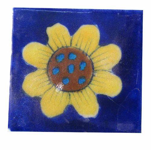 Blue Pottery Ceramic Tiles
