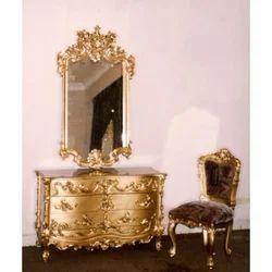 Oriental Design Dressing Table
