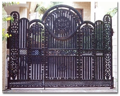 Wrought Iron Gates At Rs 860 Square Feet गढ लह क