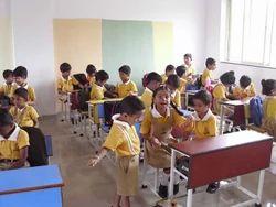 Plain Summer Int School Uniforms, Size: Medium