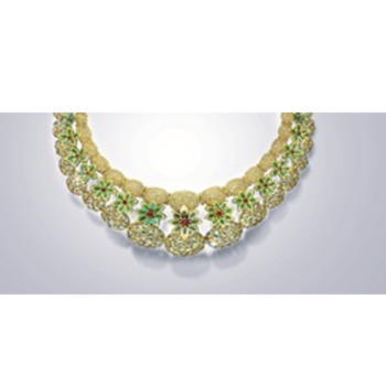 jewels uncut earring gold s necklace raj emerald fancy k vrisha diamonds diamond