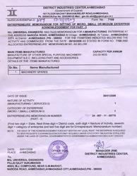 MSMED Certificate