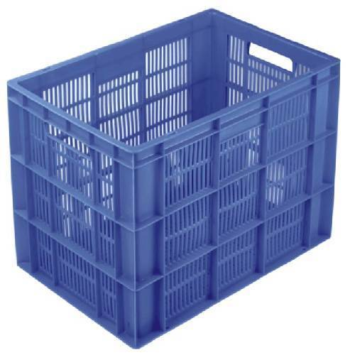 Side Perforated Vegetable Crates