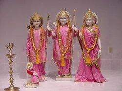 Exquiste Pair of Marble Ram Darbar