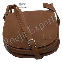 Leather Ladies Shoulder Bags