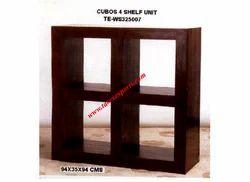 Cubos 4 Shelf Unit