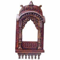 Wooden Jharokha Embossed