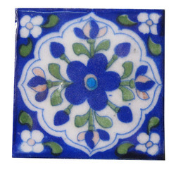 JaipurOnlineShop Same as pictur Ceramic Floor Tile, Size: 4x4 inch, Thickness: 0-5 mm