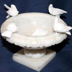 Marble Bird Bath