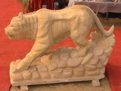 Stone Tiger Statue