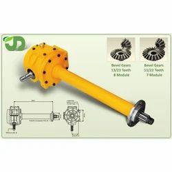 Rotavator Gear Box Single Speed