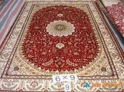 Handmade Hand Knotted Kashmir Carpet