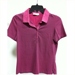 Red Color Strip T Shirt