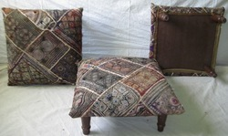 Home Decore Tribal Ottoman